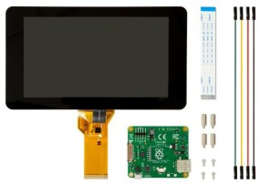 "Raspberry Pi Zubehör - Display 7"" Touch 800x480 Pixel DSI Port"