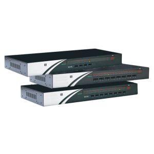 "KVM Switch 4-fach VGA/USB/PS2, 19"""