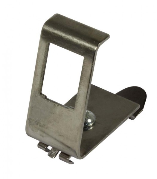 Keystone, Modulträger, DIN Rail, für 1xTP-Modul, Hutschienenadapter, Synergy 21,
