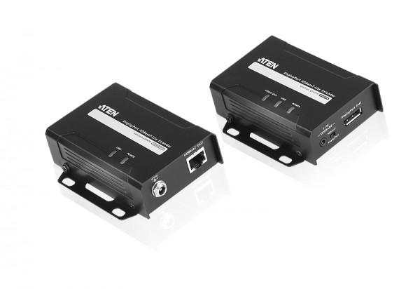 Aten Video/Audio-Extender,35/70mtr., DisplayPort(DP), Empfänger, (4K bei 40 m)