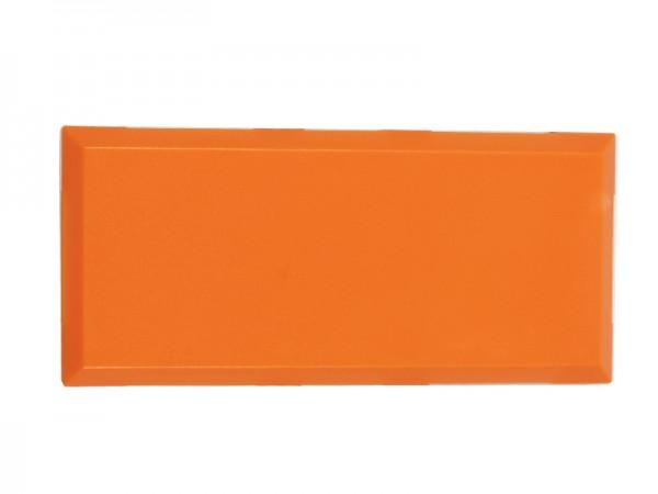 ALLNET Brick'R'knowledge Kunststoffschale 2x1 orange oben und unten 10er Pack