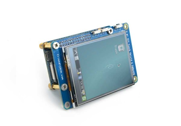 "FriendlyELEC Matrix 2.8"" SPI TFT LCD with Resistive Touch"