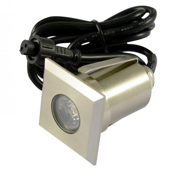 Synergy 21 LED Bodeneinbaustrahler ARGOS quadratisch in-G-C IP67 ww