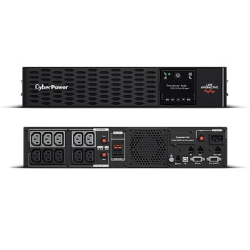"CyberPower USV, PR-XL Tower/19""-PRIII-Serie, 2200VA/2200W, 2HE, Line-Interactive, reiner Sinus, LCD, USB/RS232, ext.Runtime, incl. SNMP-Karte"
