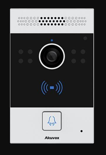 Akuvox TFE R20A IP Door SIP Intercom with one Button *Flush Mount*