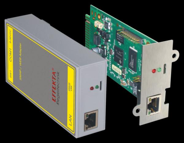 Effekta zbh.SNMP-Adapter, extern, RS232/TP, Standard,