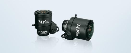 "Fujinon Objektiv 3MP 1/3"" CS-Mount 2,2-6mm Manuelle Iris"