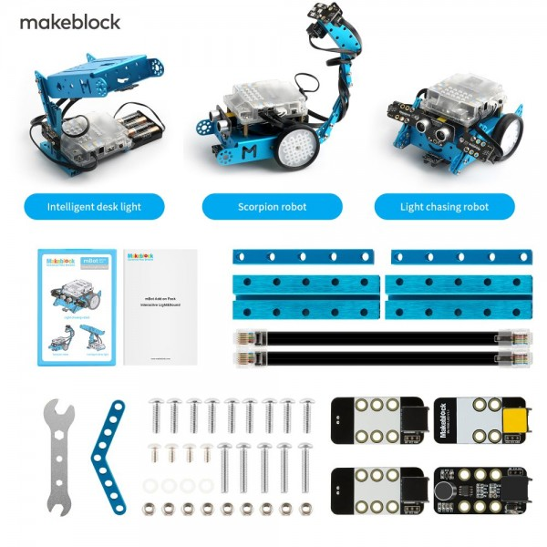 "Makeblock MINT Roboter Erweiterung 3-in-1 ""Interactive Light & Sound"" (Add-on Paket)"