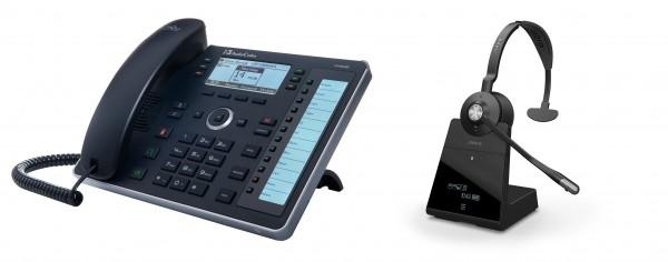 Audiocodes - Jabra Bundle, UC440HDEG & Engage 75 Mono