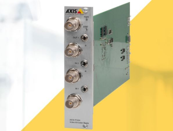 Axis Videoencoder Balde P7224 4 Kanal