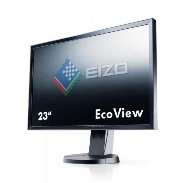 """Eizo FlexScan EcoView EV2316WFS3-BK Monitor schwarz 23""""Zoll, TN-Panel"""