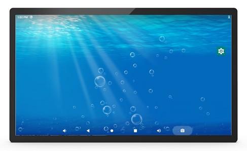 ALLNET PoE Tablet 21 Zoll mit RK3399 Android 10, 4GB/16GB Pro-Series