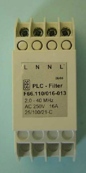 ALLNET Powerline Sperr-Filter 2,0-40 Mhz 16 A