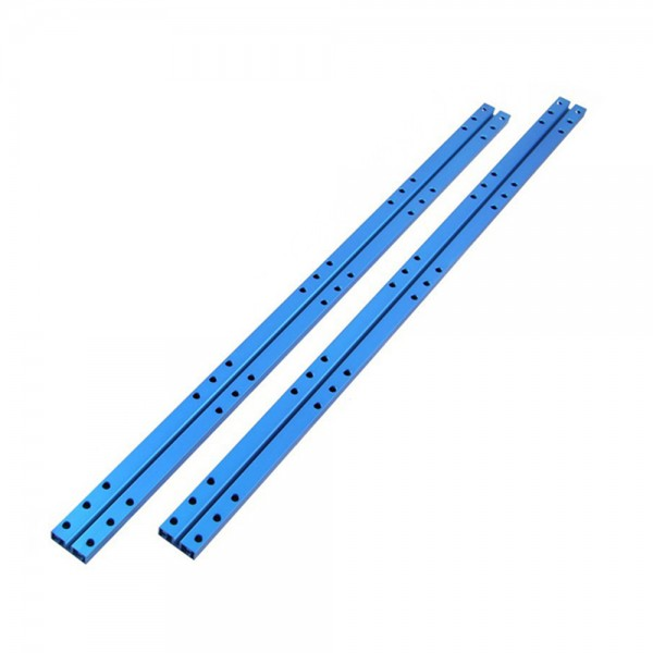 "Makeblock ""Beam 0824-496 Blue (Pair)"" / 2x Verbindungsprofil 0824-496 für MINT Roboter"