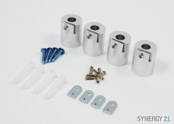 Synergy 21 LED light panel zub Montage Kit Zylinder für V1+V2 Panel silber