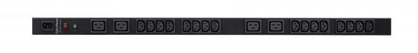 CyberPower PDU, BASIC, 230V/10A, 0HE, 16xC13+4xC19Ausgang, 1xC14 Eingang,
