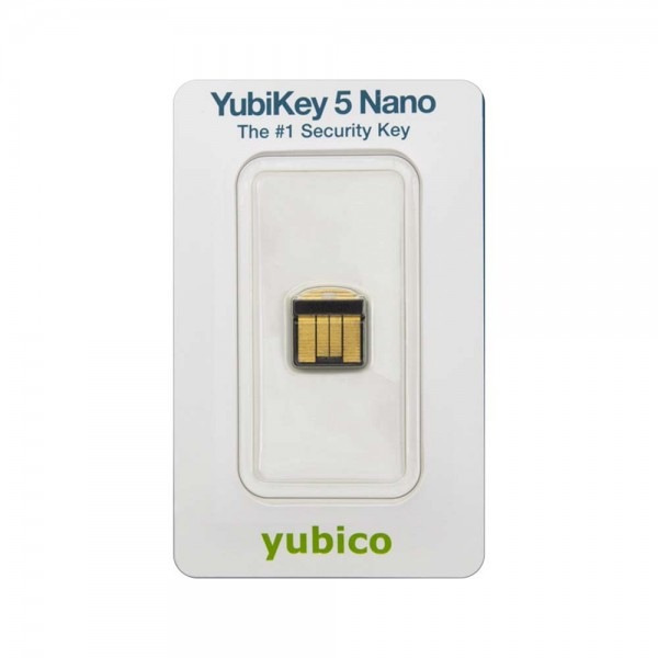YubiKey 5 Nano in Retailverpackung
