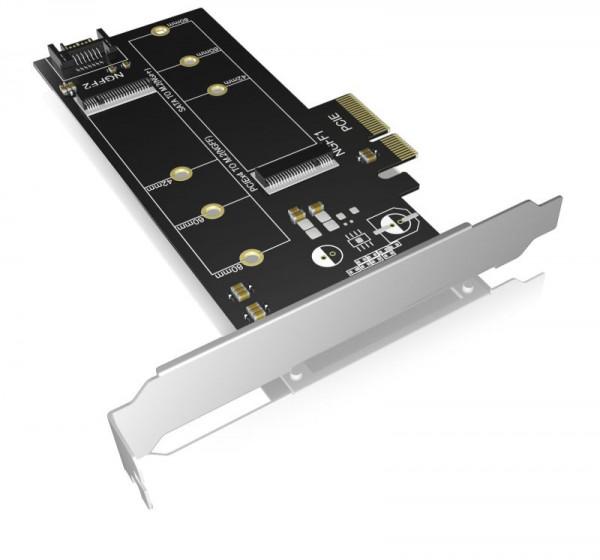 ICY Box Schnittstellenkarte, M.2 SSD, PCI-Express, IB-PCI209