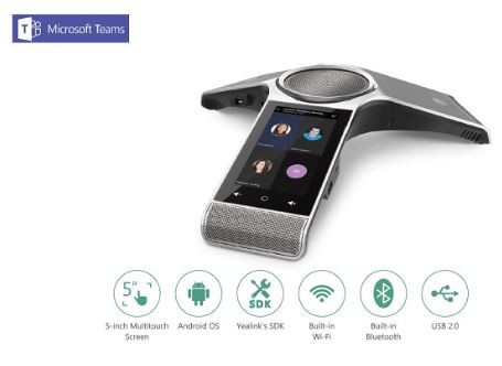 Yealink MSFT - Teams Edition CP960 Conference Phone incl. 2 Wireless Mic