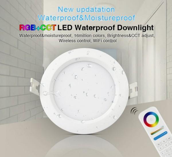 Synergy 21 LED Panel Rund 6W RGB-WW mit Funk und WLAN IP54 *Milight/Miboxer*