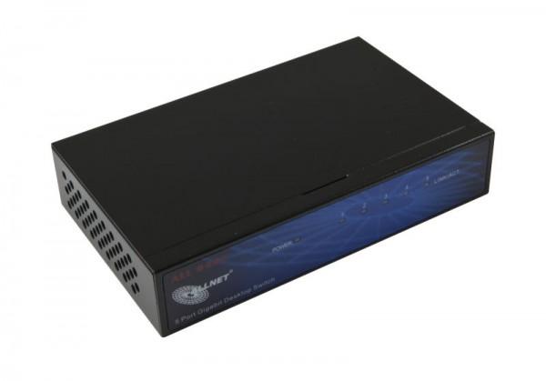 ALLNET ALL8445V3 / unmanaged 5 Port Gigabit Switch, lüfterlo