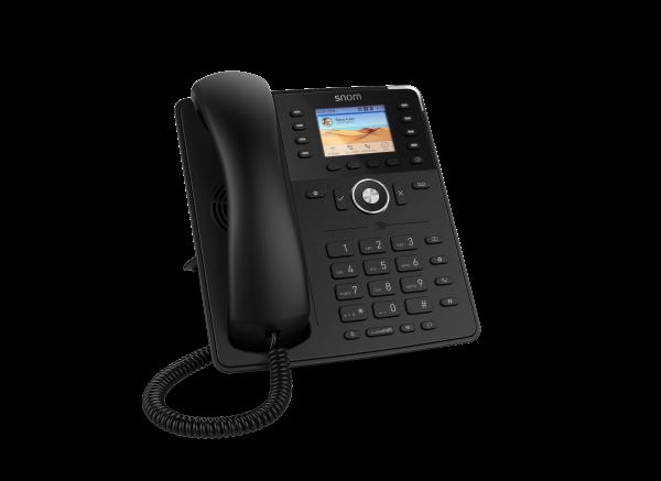 SNOM D735 VOIP Telefon (SIP) o. Netzteil, schwarz