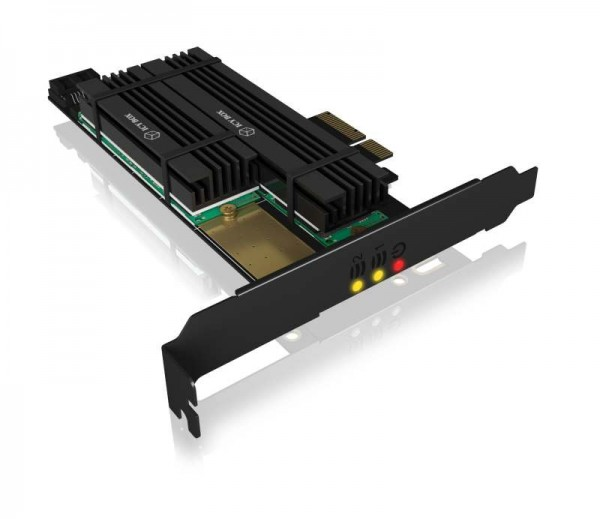 ICY Box Schnittstellenkarte, M.2 NVMe SSD 2x, PCI-Express, IB-PCI215M2-HSL