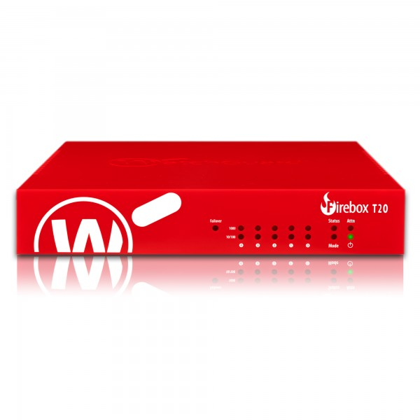 WatchGuard Firebox T20 with 3-yr Total Security Suite (WW),