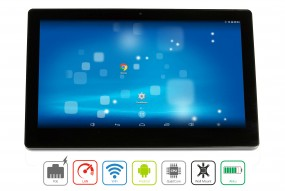 ALLNET Display Tablet 10 Zoll PoE, Android 5.1, 16GB, Wlan, RJ45, USB, Wandmontage etc.