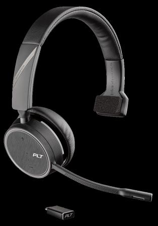 Plantronics Bluetooth Headset Voyager 4210 UC Schwarz USB-C
