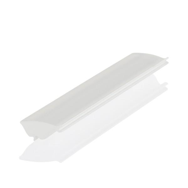 BILTON Profil zub Cover CT Linse asymmetrisch 80x5° 86% PMMA L6000xB13,5xH8mm