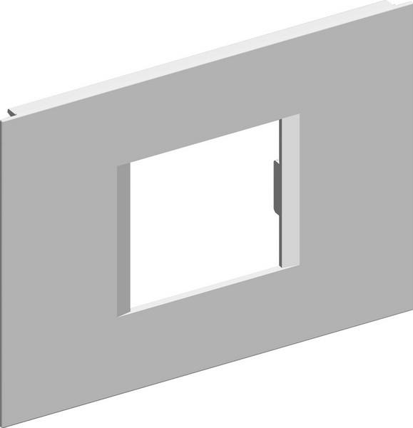 TEM Serie Modul Brüstungskanal COVER PLATE MA92 2/3M ES