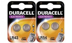Batterien Knopfzelle LR44 *Duracell* 2er-Pack