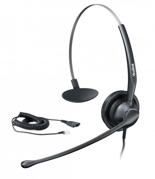 Yealink SIP zub. UH33 Monaurales Headset mit NoiseCancelling