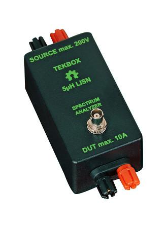 Tekbox TBOH01 / Gleichspannungs-LISN bis 10 A