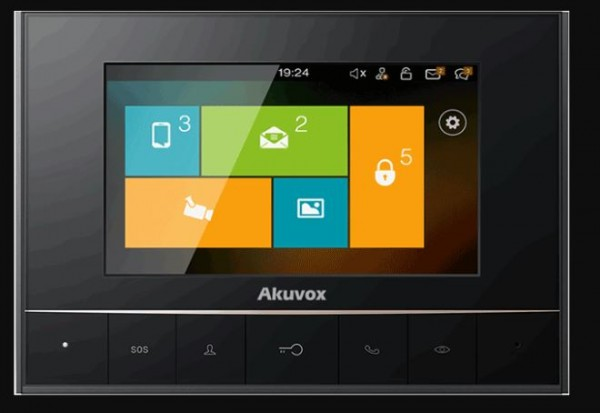 Akuvox TFE zbh. IT80 Indoor Touch Screen Linux based *POE*