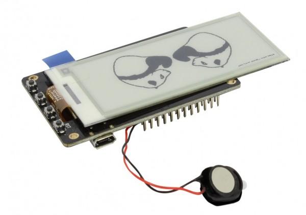 "ALLNET 4duino IoT WLAN ePaper/eink/e-ink Display black/white - ESP32 Modul 2,9"" E-Paper ALL-ESP32-EP-2,9-BW"