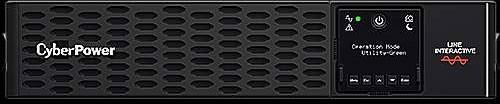 "CyberPower USV, PR Tower/19""-PRIII-Serie,, 750VA/750W, 2HE, Line-Interactive, reiner Sinus, LCD, USB/RS232,"