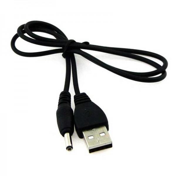 ALLNET USB Typ A -> DC Adapter 4 mm, Länge 1m, AWG19