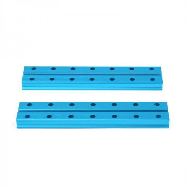 """Makeblock """"Slide Beam 0824-112 Blue (Pair)"""" / 2x Gleitschiene 0824-112 für MINT Roboter"""