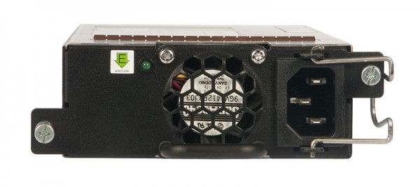 Ruckus Networks ICX Switch zub. ICX7450/6610/6650 NON-POE 250W AC PSU, intake airflow, back to front airflow