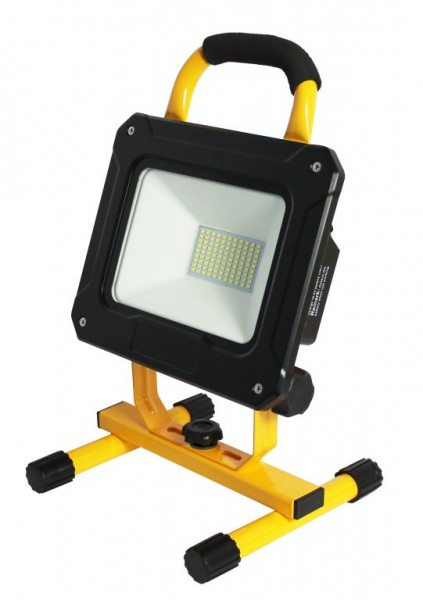 Synergy 21 LED AKKU Baustrahler 50W gelb/cw Makita kompatibel
