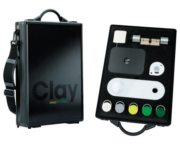 Salto Clay Zutrittskontrolle Demokoffer