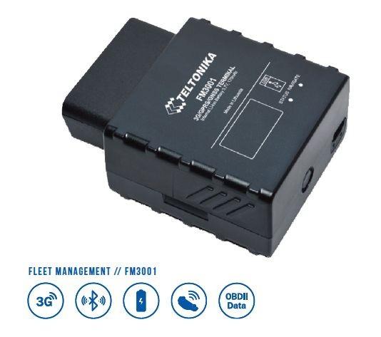 "Teltonika FM3001 ODBII, Bluetooth, Crash-Detection ""Accelerometer"", 3G,"