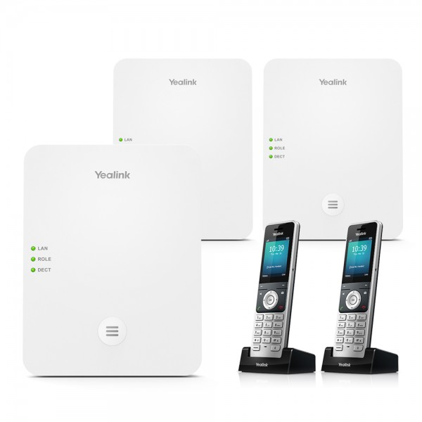 Yealink DECT Bundle W80DM + 2 x W80B + W56H