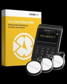 REINER SCT timeCard 6 Zeiterfassung Starterkit 15 User