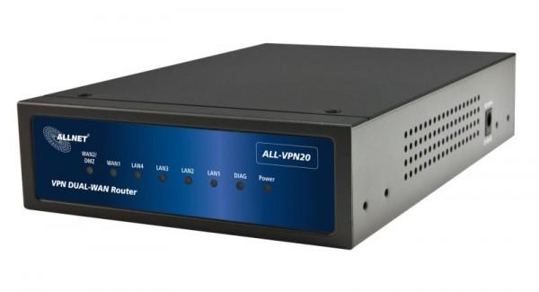 ALLNET ALL-VPN20 / VPN/Firewall Dual-WAN Router