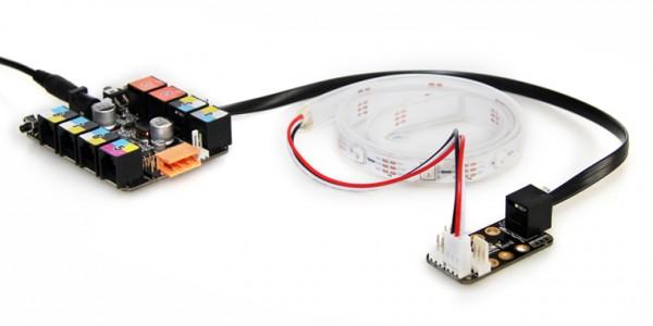 """Makeblock Aktor """"LED RGB Strip addressable & sealed 0.5m"""" / LED RGB Streifen adressierbar & versiegelt 0,5m für MINT Roboter"""