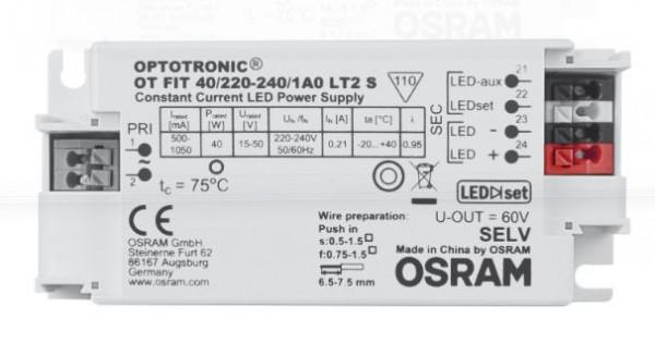 Osram Netzteil - CC Driver 500~1050mA, 15~50V