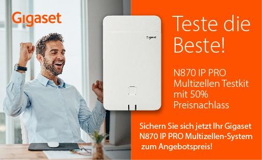 """Gigaset Pro """"Teste die Beste"""" 2x N870"""
